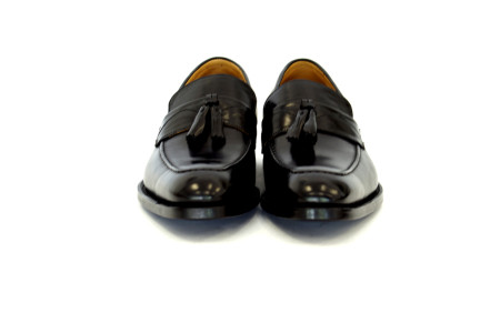 The  Hector  Tassel  Loafers –  Black