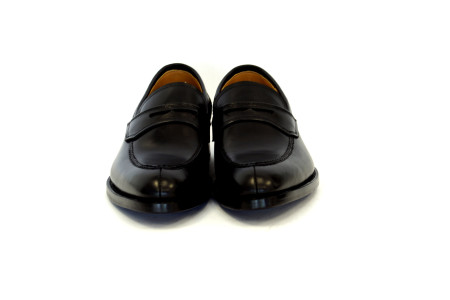 Justin  Penny  Loafer –  Black